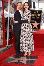 Anne Hathaway at Star Ceremony on The Hollywood Walk Of Fame in Hollywood 2019/05/09 18