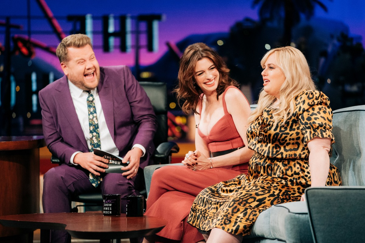 Anne Hathaway at The Late Late Show with James Corden 2019/05/09 3