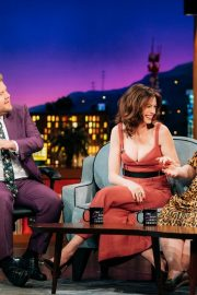 Anne Hathaway at The Late Late Show with James Corden 2019/05/09 10
