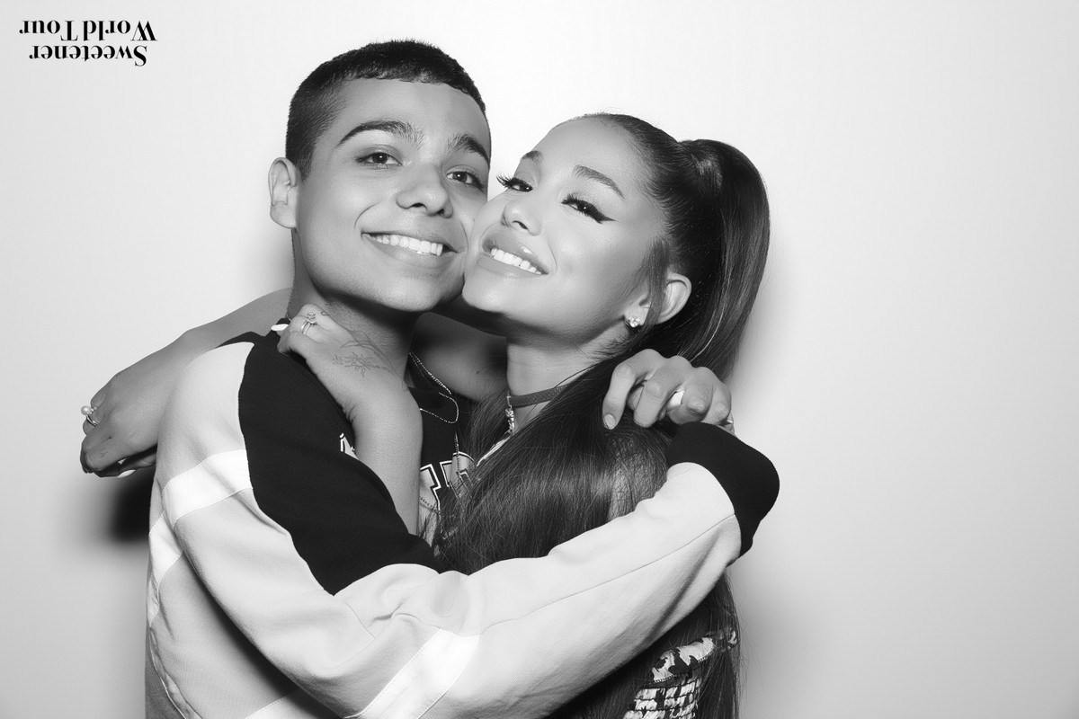 Ariana Grande At Sweetener World Tour Meet And Greet In