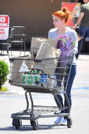 Ariel Winter Out for Grocery Shopping in Studio City 2019/05/08 6