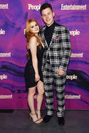 Ariel Winter with co-star Nolan Gould at Entertainment Weekly & PEOPLE New York Upfronts Party 2019/05/13 1