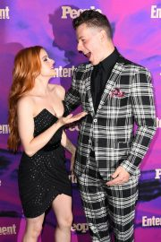 Ariel Winter with co-star Nolan Gould at Entertainment Weekly & PEOPLE New York Upfronts Party 2019/05/13 10