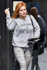 Ariel Winter without makeup for workout in Studio City 2019/05/16 1