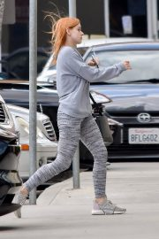 Ariel Winter without makeup for workout in Studio City 2019/05/16 6