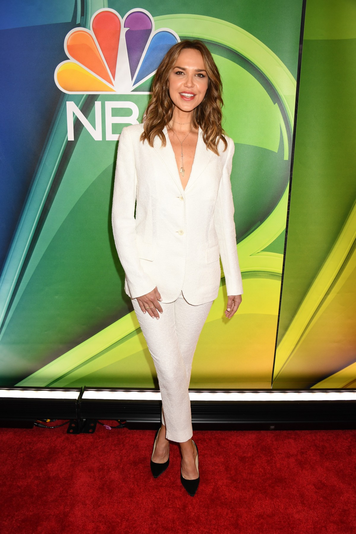 Arielle Kebbel at NBCUniversal Upfront Presentation in New York 2019/05/13 2