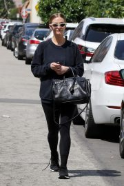 Ashlee Simpson leaves the GYM in Los Angeles 2019/05/03 9