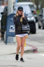 Ashley Benson Out in Studio City Before the Gym 2019/05/09 11