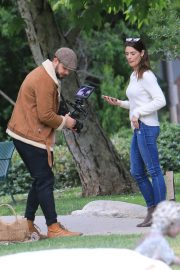 Ashley Greene Outside Photoshoot at The Park in Beverly Hills 2019/05/07 2