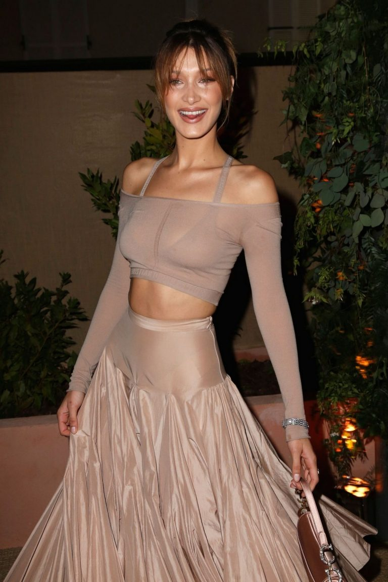 Bella Hadid attend Dior and Vogue Paris Dinner at Fred L'Ecailler in Cannes 2019/05/15 1