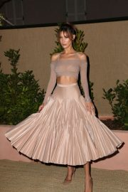 Bella Hadid attend Dior and Vogue Paris Dinner at Fred L'Ecailler in Cannes 2019/05/15 2