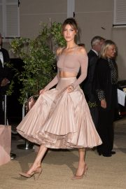 Bella Hadid attend Dior and Vogue Paris Dinner at Fred L'Ecailler in Cannes 2019/05/15 5