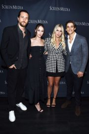 "Ben Robson, Alycia Debnam-Carey, Claire Holt and Brenton Thwaites Arrive at Screening of ""A Violent Separation"" in Santa Monica 2019/05/13 1"