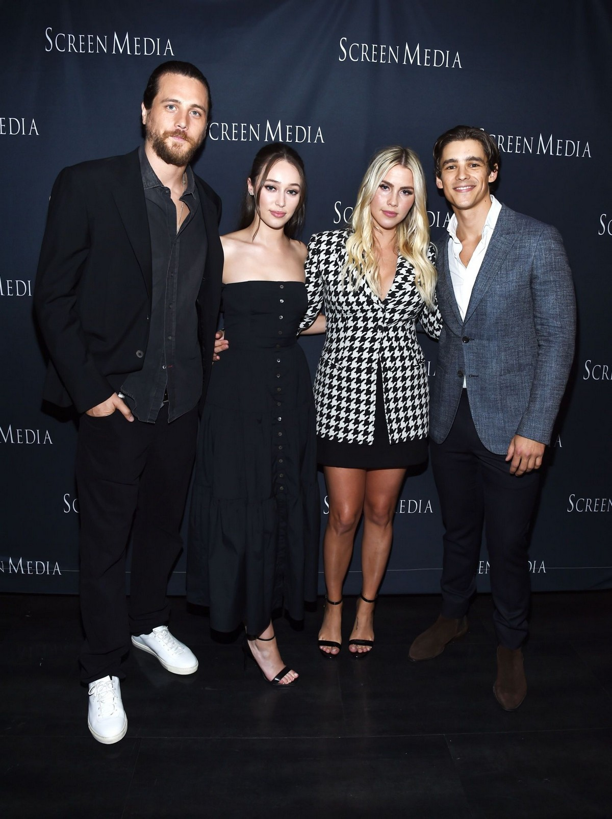 "Ben Robson, Alycia Debnam-Carey, Claire Holt and Brenton Thwaites Arrive at Screening of ""A Violent Separation"" in Santa Monica 2019/05/13"