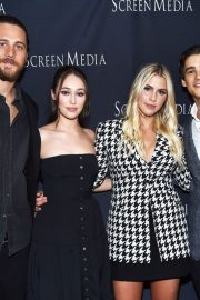 "Ben Robson, Alycia Debnam-Carey, Claire Holt and Brenton Thwaites Arrive at Screening of ""A Violent Separation"" in Santa Monica 2019/05/13 3"