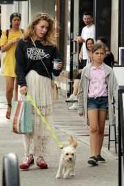Bethany Joy Lenz with Her Daughter Maria Rose Galeotti Out in Los Angeles 2019/05/11 10
