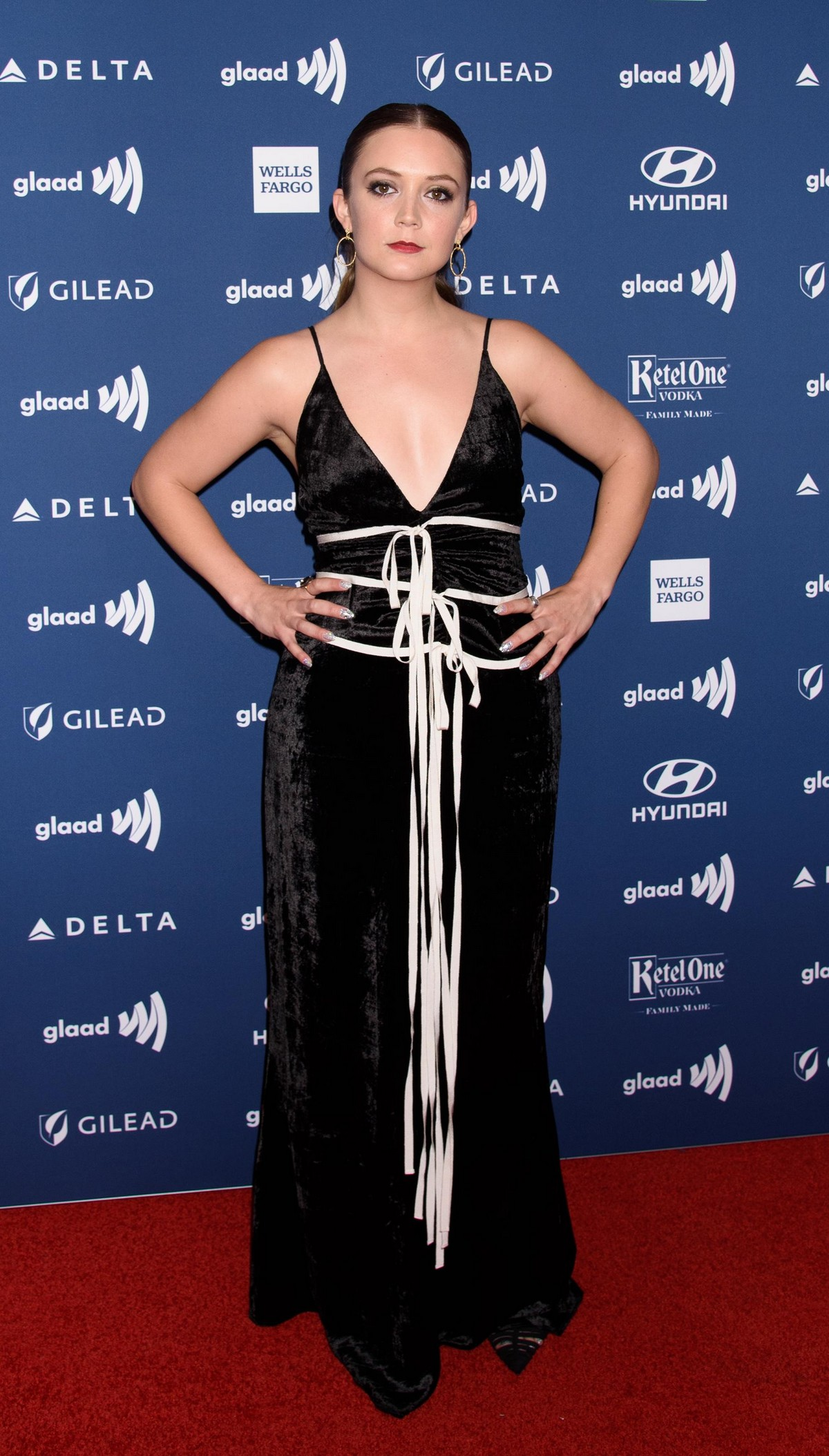 Billie Lourd at 30th Annual GLAAD Media Awards in New York 2019/05/04 11