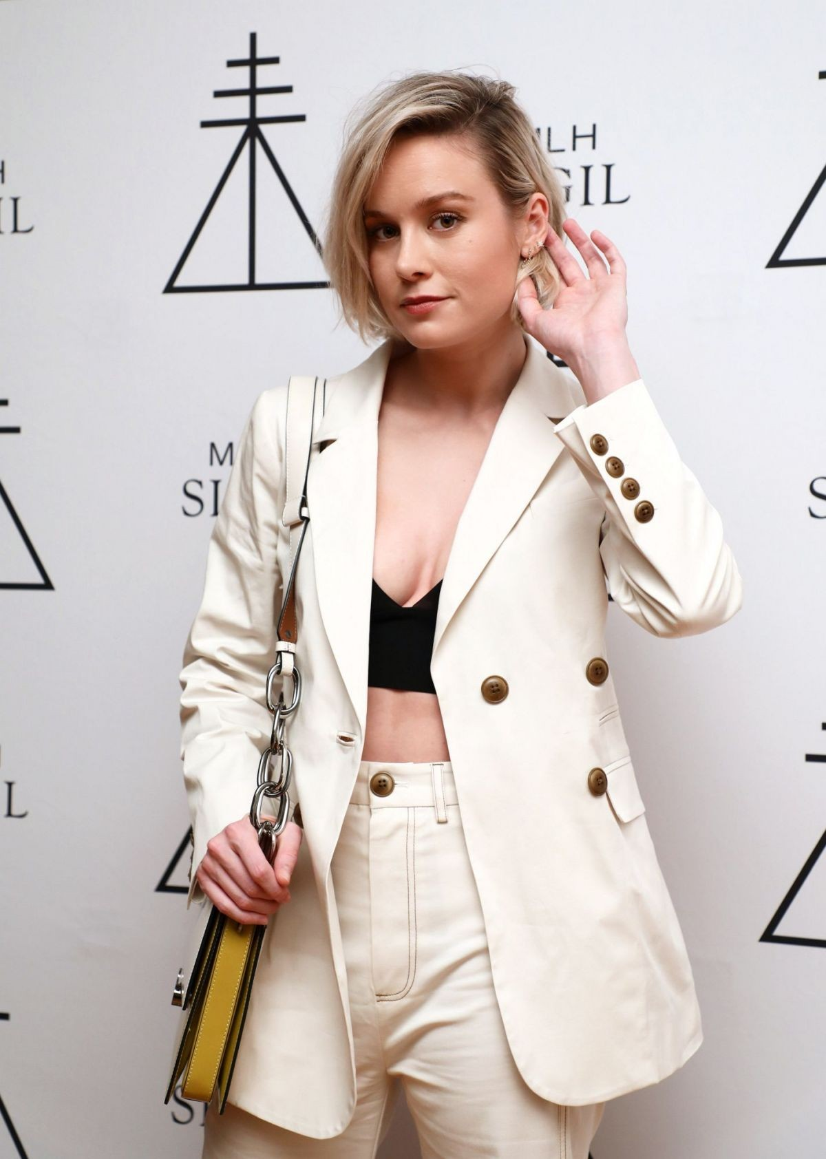 Brie Larson at MHL Sigil Fragrance Launch Party in Los Angeles 2019/04/30 2