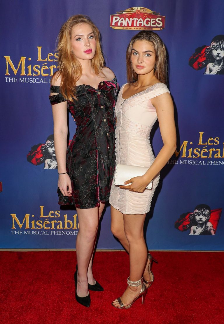 "Brighton Sharbino Arrives Night Performance of ""Les Miserables"" at the Pantages Theatre 2019/05/09 1"