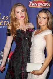 """Brighton Sharbino Arrives Night Performance of """"Les Miserables"""" at the Pantages Theatre 2019/05/09 2"""