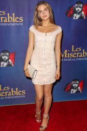 """Brighton Sharbino Arrives Night Performance of """"Les Miserables"""" at the Pantages Theatre 2019/05/09 4"""
