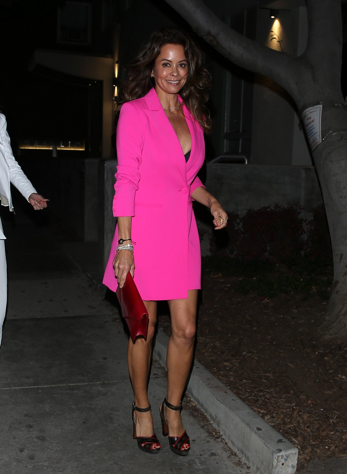 "Brooke Burke Leaves The ""Dog Pound Gym"" Opening in West Hollywood 2019/05/09 4"