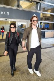 Camila Cabello with her boyfriend Seen at LAX Airport 2019/05/11 1