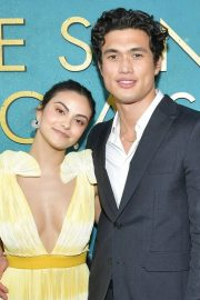 """Camila Mendes and Charles Melton at """"The Sun is Also A Star"""" Premiere in Los Angeles 2019/05/13 1"""