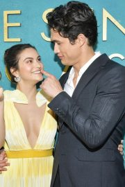 """Camila Mendes and Charles Melton at """"The Sun is Also A Star"""" Premiere in Los Angeles 2019/05/13 2"""