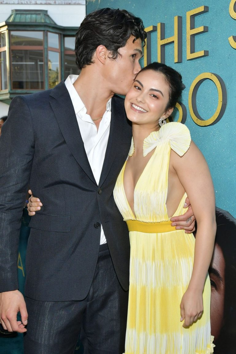 "Camila Mendes and Charles Melton at ""The Sun is Also A Star"" Premiere in Los Angeles 2019/05/13 4"