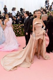 Camila Morrone at The 2019 Met Gala Celebrating Camp: Notes on Fashion in New York 2019/05/06 1