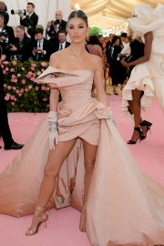 Camila Morrone at The 2019 Met Gala Celebrating Camp: Notes on Fashion in New York 2019/05/06 2