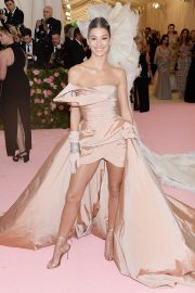 Camila Morrone at The 2019 Met Gala Celebrating Camp: Notes on Fashion in New York 2019/05/06 3