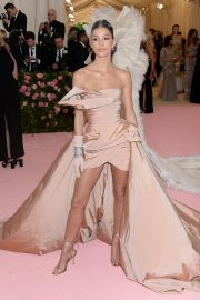 Camila Morrone at The 2019 Met Gala Celebrating Camp: Notes on Fashion in New York 2019/05/06 4