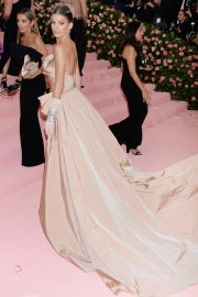 Camila Morrone at The 2019 Met Gala Celebrating Camp: Notes on Fashion in New York 2019/05/06 6