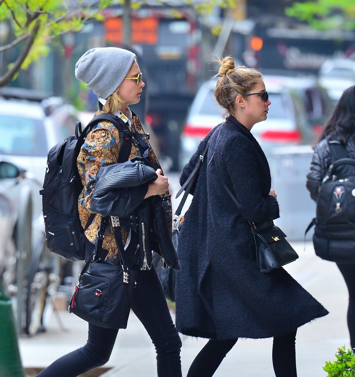 Cara Delevingne and Ashley Benson Out in New York 2019/05/01 2