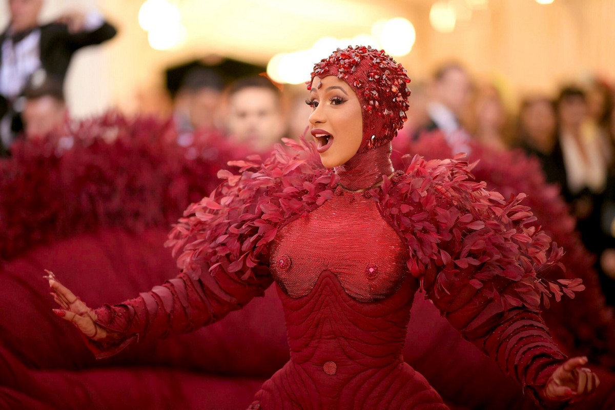 Cardi B at The 2019 Met Gala Celebrating Camp: Notes on Fashion in New York 2019/05/06 1