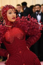 Cardi B at The 2019 Met Gala Celebrating Camp: Notes on Fashion in New York 2019/05/06 4