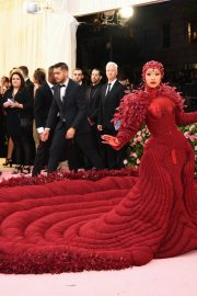 Cardi B at The 2019 Met Gala Celebrating Camp: Notes on Fashion in New York 2019/05/06 7
