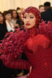Cardi B at The 2019 Met Gala Celebrating Camp: Notes on Fashion in New York 2019/05/06 12