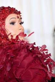 Cardi B at The 2019 Met Gala Celebrating Camp: Notes on Fashion in New York 2019/05/06 14