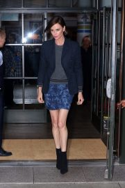 """Charlize Theron at """"Late Night with Seth Meyers"""" in New York 2019/05/01 2"""