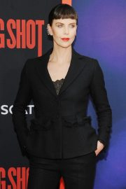 """Charlize Theron at """"Long Shot"""" Premiere at Square Theater in New York 2019/04/30 3"""