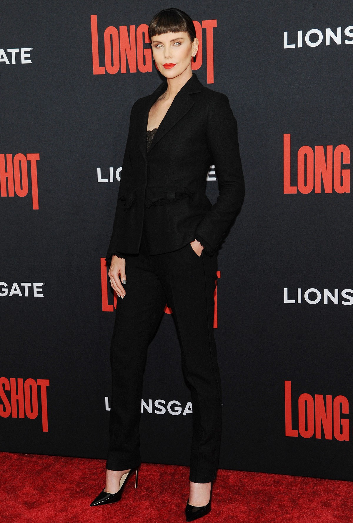 """Charlize Theron at """"Long Shot"""" Premiere at Square Theater in New York 2019/04/30 6"""
