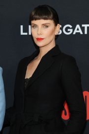 """Charlize Theron at """"Long Shot"""" Premiere at Square Theater in New York 2019/04/30 11"""