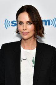 Charlize Theron at SiriusXM Studios in New York City 2019/04/29 2