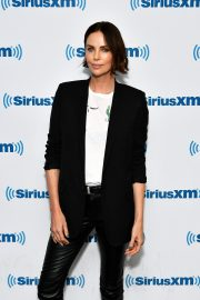 Charlize Theron at SiriusXM Studios in New York City 2019/04/29 3