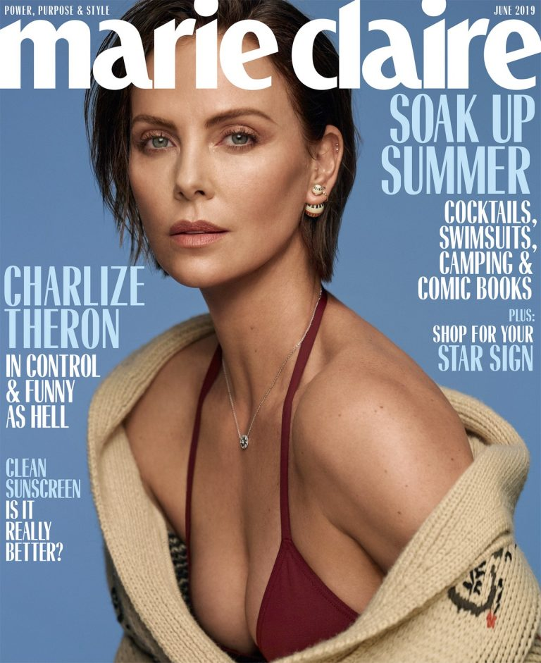 Charlize Theron for Marie Claire Magazine by Thomas Whiteside, June 2019 1