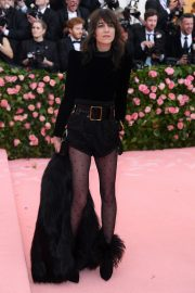 Charlotte Gainsbourg at The 2019 Met Gala Celebrating Camp: Notes on Fashion in New York 2019/05/06 4