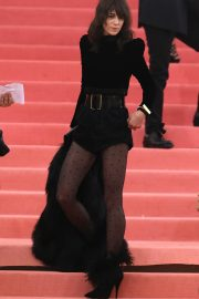 Charlotte Gainsbourg at The 2019 Met Gala Celebrating Camp: Notes on Fashion in New York 2019/05/06 19